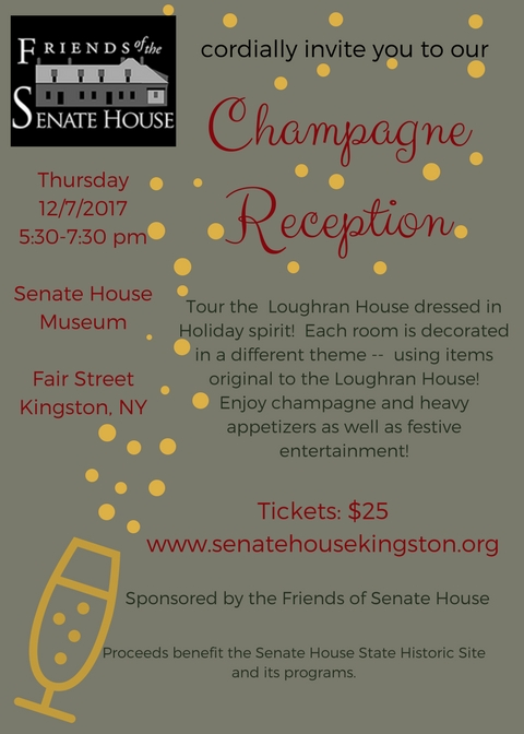 2017 Champagne Reception @ Loughran House | Kingston | New York | United States